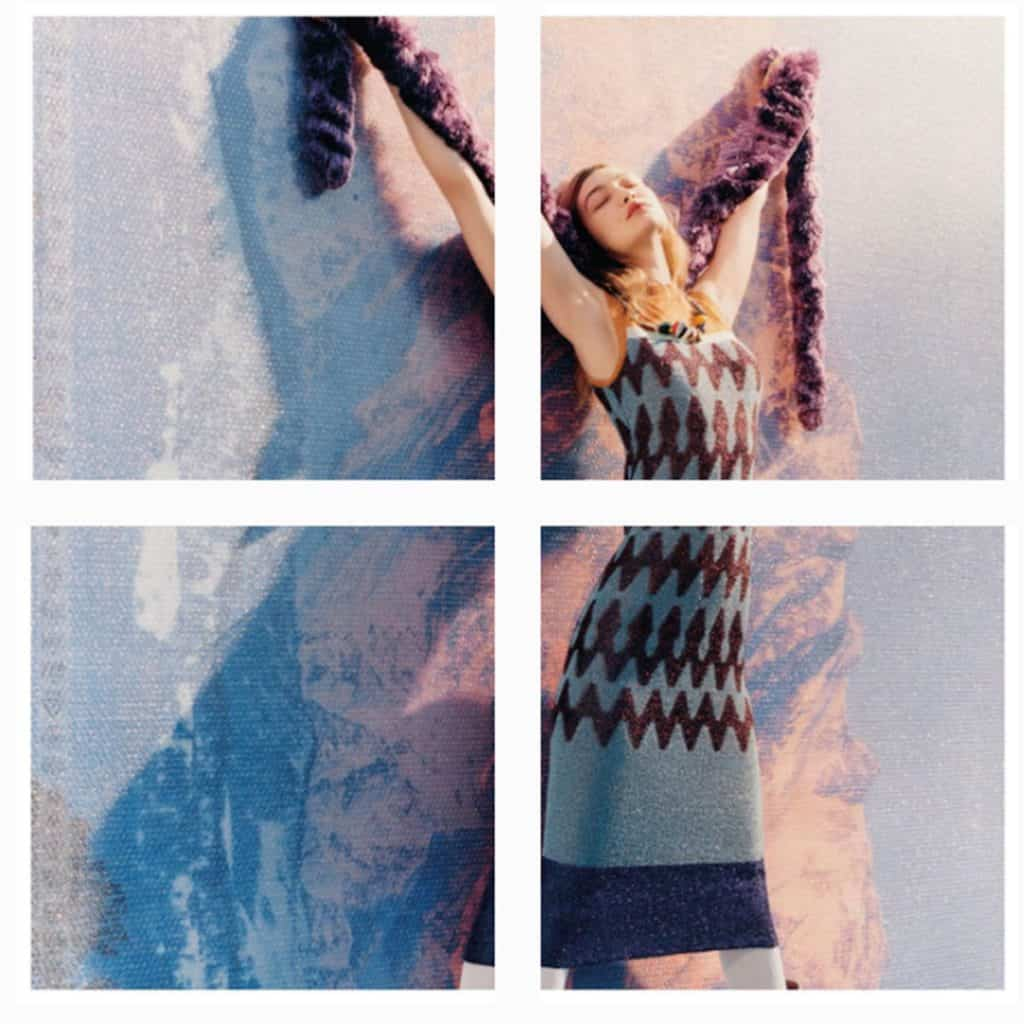 Gigi Hadid Missoni photo